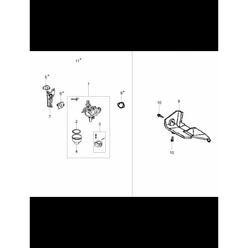 Культиваторы Oleo-Mac, MH150RKEmakK700, Карбюратор і дефлектор в Украине